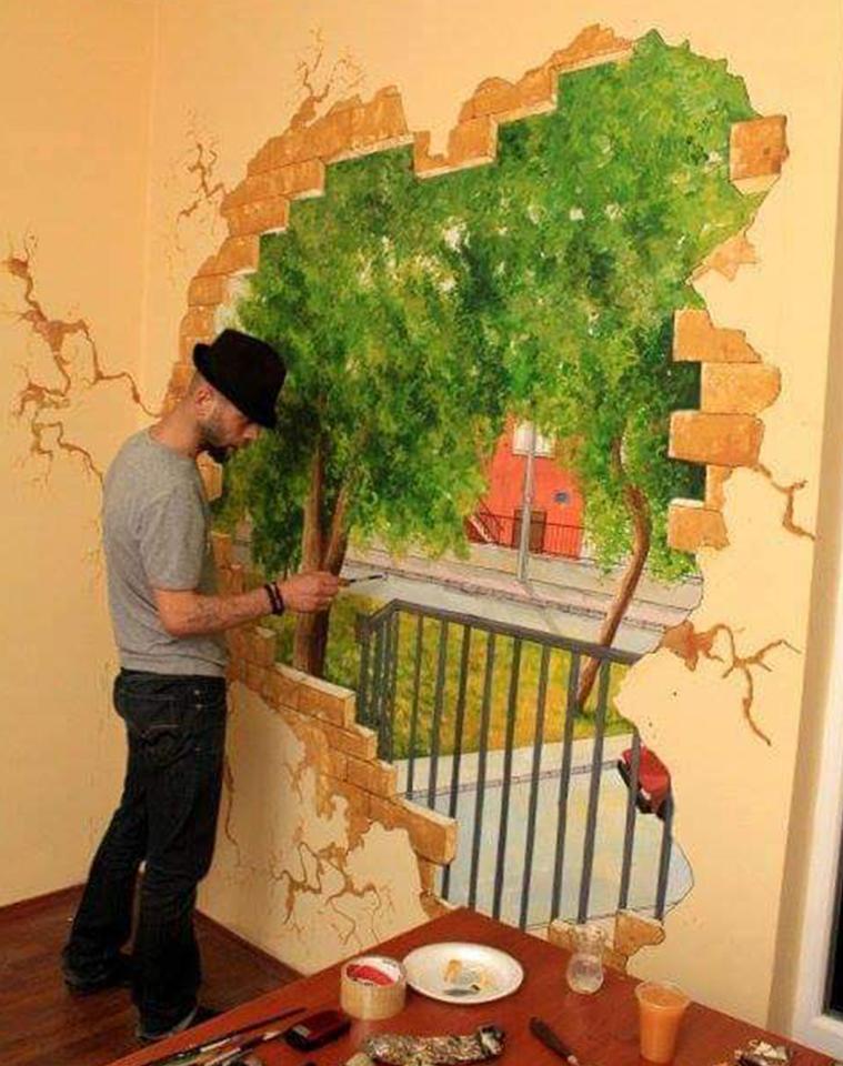 Duvar Resimleri (Mural) Çalışmaları