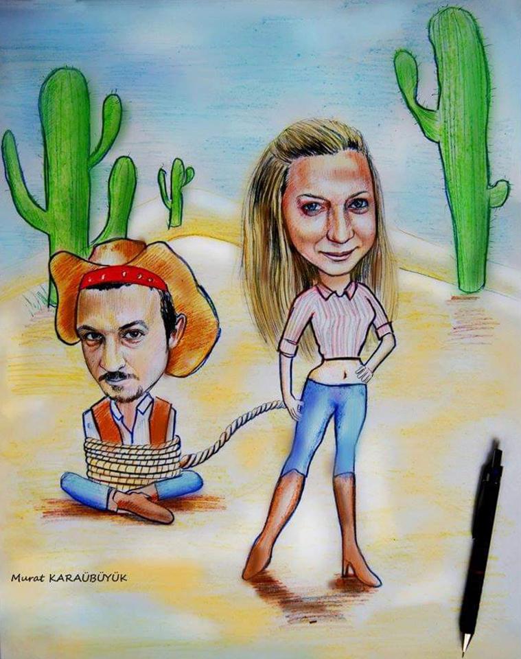 Karikatür Portre Çalışmaları